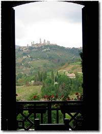 San Gimignano From the Window